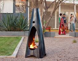 Outdoor Fireplace Chiminea Your Weekend Eye Candy Outdoor Fireplaces And Fire Pits At Home