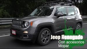 gray jeep renegade jeep renegade 2018 con accesorios mopar youtube