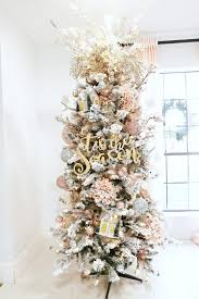 small pink christmas tree how to trim out your flocked christmas tree with pink accents