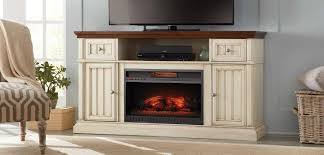 Entertainment Center With Bookshelves Fireplace Entertainment Center The Home Depot