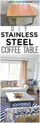 sheet metal coffee table