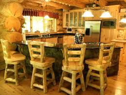 Log Home Kitchens Colorado Style Log Home Acreage