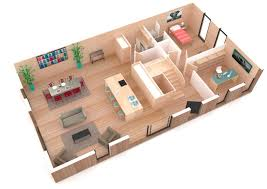 plan de maison avec cuisine ouverte model de maison americaine modele de maison au senegal with model