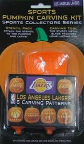 Pumpkin Carving Kits Nba Los Angeles Lakers Pumpkin Carving Kit 301438