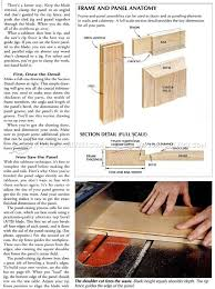 Cabinet Door Plans Woodworking 129 Best Construccion De Muebles Images On Pinterest Woodwork