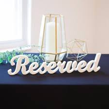 reserved signs for wedding tables table signs page 2 z create design