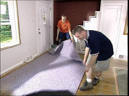 Laminate Flooring Over Concrete Slab How To Install Carpet Over Hardwood Flooring How Tos Diy