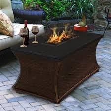 Outdoor Furniture With Fire Pit by Natural Gas Fire Pit Tables You U0027ll Love Wayfair