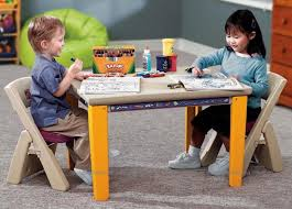 Folding Table And Chair Sets Step2 Lifestyle Folding Table And Chair Set Yellow Littlehood