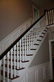 Wainscoting On Stairs Ideas Very Similar To What I Did To My Staircase Home Projects