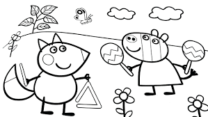 coloring pages peppa pig printouts peppa pig party printouts