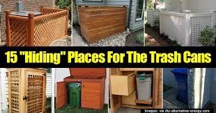 Kitchen Trash Can Ideas 15 Best Ideas For Hiding Trash Cans