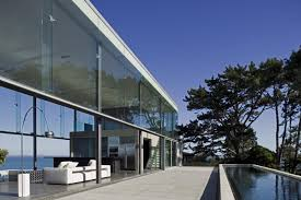 The Cliff House Dining Room Cliff House In New Zealand Beautiful Glass House Overlooking A