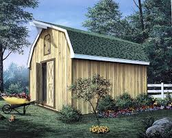 project plan 85901 barn storage shed with loft