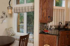 Kitchen Window Seat Ideas Custom Kitchen Window Treatments Caurora Com Just All About