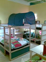Ikea Beds For Kids How To Arrange The Ikea Kura Bunk Bed For 3 Kids Pretty Cool