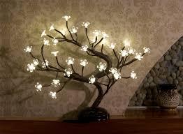 Lights For Home Decor Amazon Com Lightshare16inch 36led Cherry Blossom Bonsai Light