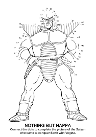 coloring page dragon ball z coloring pages 60