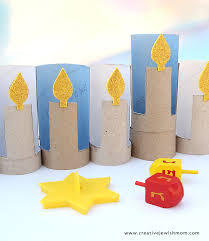 kids menorah hankkah crafts for kids up from the archives creative