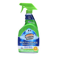 Mr Clean Bathroom Cleaner Scrubbing Bubbles Multi Surface Disinfectant Restroom Cleaners