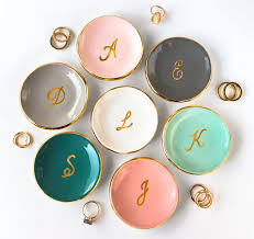 monogrammed dishes personalized gifts modern mud