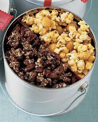 halloween popcorn gifts caramel popcorn recipes martha stewart