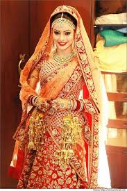 wedding chunni band baaja with sabyasachi bridal sarees lehenga collections