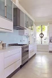 Best Kitchen Backsplash Material Sea Glass Tile Backsplash Glass