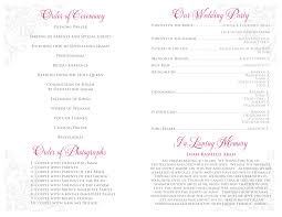 printable wedding programs free wedding programs templates zoro blaszczak co