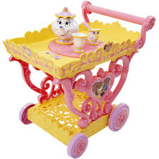 3 olds princess belle musical tea party cart toys
