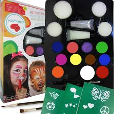 amazon com weebumz face painting top color party pack for kids