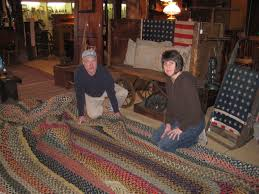 Big Rug My Weblog The Story Of The Braided Rug That Wouldn U0027t Fit