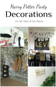 Halloween Devils Birthday by Harry Potter Party Decorations Ideas