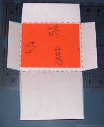 Make An Envelope Making Envelopes Here U0027s How To Make An Envelope For A Card Of Any