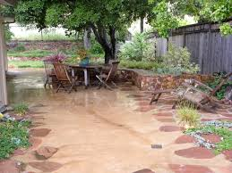 Lowes Backyard Ideas by Exterior Design Interesting Decomposed Granite Patio Design With