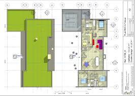 plan maison contemporaine plain pied 4 chambres maison plain pied 3 chambres séduisant plan maison contemporaine