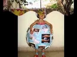 fancy dress mother earth youtube