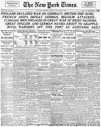 the new york times gt england declares war on germany