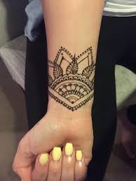 temporary henna tattoos designs for wrist prospects pinterest
