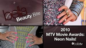 neon nail trend seen on kristen stewart katy perry lindsay