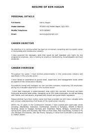 Construction Superintendent Resume Examples Steel Fixer Foreman Resume Virtren Com
