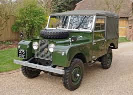 land rover track win a 1951 classic fully restored all electric land rover