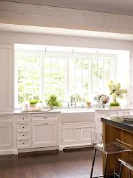 kitchen window decorating ideas large kitchen window curtains petrun co