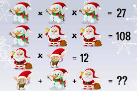 can you solve this christmas equation brainly in
