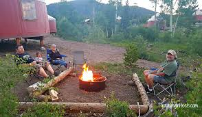 Cing Firepit Snow Mountain Ranch Yurt Best Mountain 2017