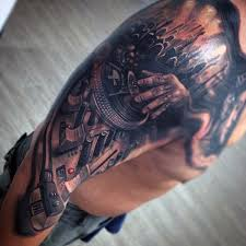 100 tattoos for manly designs with