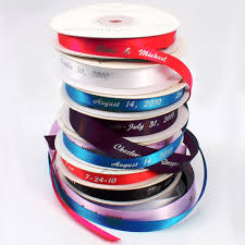 personalized wedding ribbon personalized and plain ribbon ribbons baker s twine favor