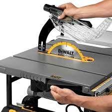 table saw with dado capacity dewalt dwe7491rs review portable table saw