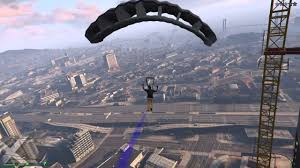 gta 5 parachute from 150 meters youtube