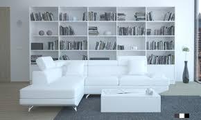 canapé simili blanc canapé d angle simili cuir groupon shopping
